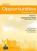 New Opportunities: Beginner: Language Powerbook