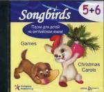 CD. Песни для детей на английском языке. 5+6. Games. Christmas Carols