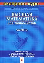 Высшая математика для экономистов. 1 семестр