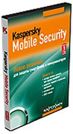 Kaspersky Mobile Security Russian Edition. 1 year Base DVD box
