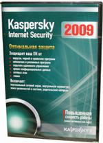 Kaspersky Internet Security 2009 Russian Edition. 1-Desktop 1 year Renewal Box