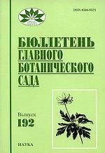 Бюллетень Главного ботанического сада