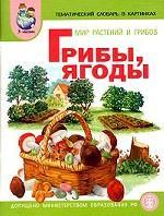 """Мир растений и грибов. Грибы. Ягоды: тематический словарь в картинках. Программа """"Я - человек"""""""