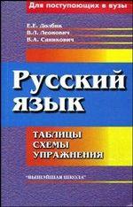 Русский язык. Таблицы, схемы, упражнения. Для поступающих в вузы(изд:5)