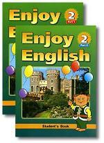Enjoy English-2: Student`s Book. Английский язык. Английский с удовольствием. 3 класс. Комплект из 2 книг