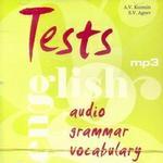 Тесты по английскому языку. Диск mp3