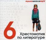 CD. Хрестоматия по литературе. 6 кл
