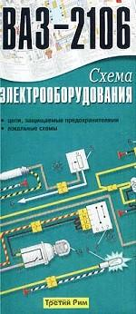 Электрические схемы ВАЗ 21093, 21099, изд Третий Рим Производитель.  По запросу.