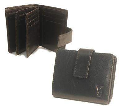 Футляр для визиток и банковских карт черные IVS