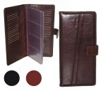 Футляр для визиток и банковских карт коричневые KOFR