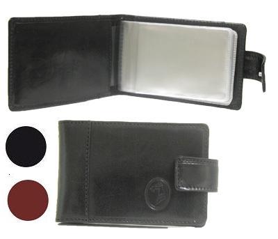 Футляр для визиток и банковских карт черные Filt