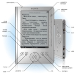 Sony Reader PRS-300 Reader Pocket Edition (серебристая)