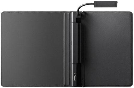 Обложка с подсветкой PRSA-CL3 для Sony PRS-300 Pocket Edition (Черная)