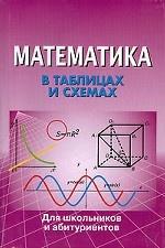 Математика в таблицах и схемах. Для школьников и абитуриентов