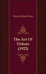 The Art Of Debate (1922)