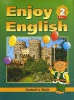Биболетова 3-4 кл.Enjoy English-2.(Компл.в 2-х ч.)Учебник