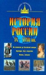 История России IX - XVIII вв