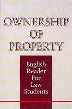 Ownership of Property. Собственность