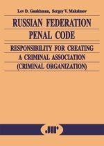 Russian Federation penal code: responsibility for creating a criminal association