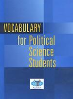 Vocabulary for Political Science Students