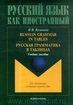 Russian Grammar in Tables. Русская грамматика в таблицах. учебное пособие