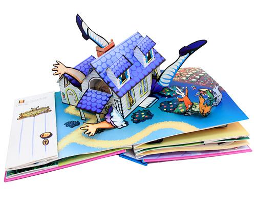 Книжки с объемными иллюстрациями своими руками