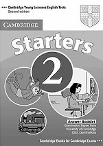 Cambridge Young Learners English Tests Starters 2 Answer Booklet