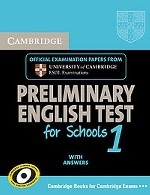Cambridge PET for Schools 1 Self-study Pack (Student`s Book with Answers with Audio CDs (2)): Level 1