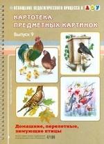 Картотека предметных картинок. Выпуск 9. Домашние, перелетные, зимующие птицы