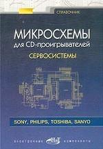 Микросхемы для CD-проигрывателей. Сервосистемы. Справочник
