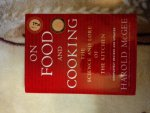 "Harold McGee ""On food and cooking"""