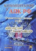 Комментарий к Арбитражному процессуальному кодексу РФ. Сравнительные таблицы АПК РФ-1995
