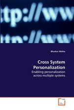 Cross System Personalization. Enabling personalization across multiple systems