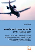 Aerodynamic measurements of the landing gear. Aerodynamics of the landing gear using different data acquisition techniques like Particle image velocimetry, Hot-film Anemometry, flow visualization