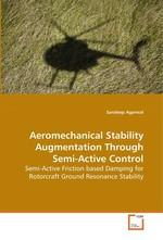 Aeromechanical Stability Augmentation Through Semi-Active Control. Semi-Active Friction based Damping for Rotorcraft Ground Resonance Stability
