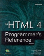 The HTML 4 Programmer`s Reference: All Platforms. На английском языке