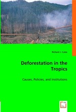 Deforestation in the Tropics. Causes, Policies, and Institutions