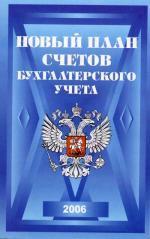 Новый план счетов бухгалтерского учета (2006)