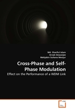 Cross-Phase and Self-Phase Modulation. Effect on the Performance of a WDM Link