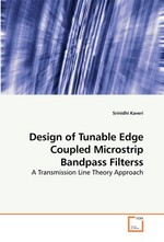 Design of Tunable Edge Coupled Microstrip Bandpass Filterss. A Transmission Line Theory Approach