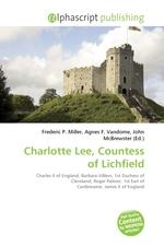 Charlotte Lee, Countess of Lichfield