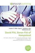 David Pitt, Baron Pitt of Hampstead