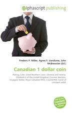 Canadian 1 dollar coin
