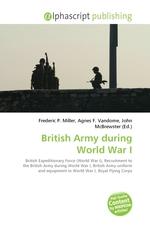 British Army during World War I