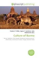 Culture of Burma
