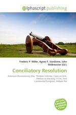 Conciliatory Resolution
