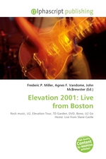 Elevation 2001: Live from Boston