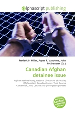 Canadian Afghan detainee issue
