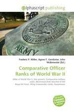Comparative Officer Ranks of World War II