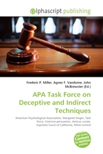 APA Task Force on Deceptive and Indirect Techniques